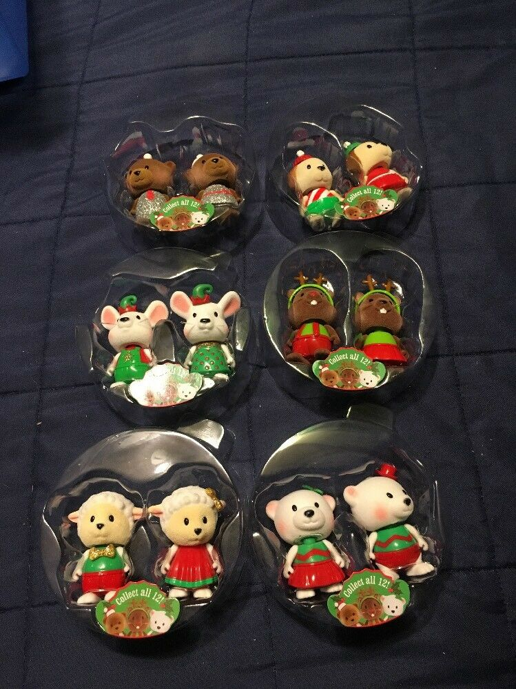 2017 Full Set Lot LIL WOODZEEZ HOLIDAY BOBBLEEZ Bobblehead Collection