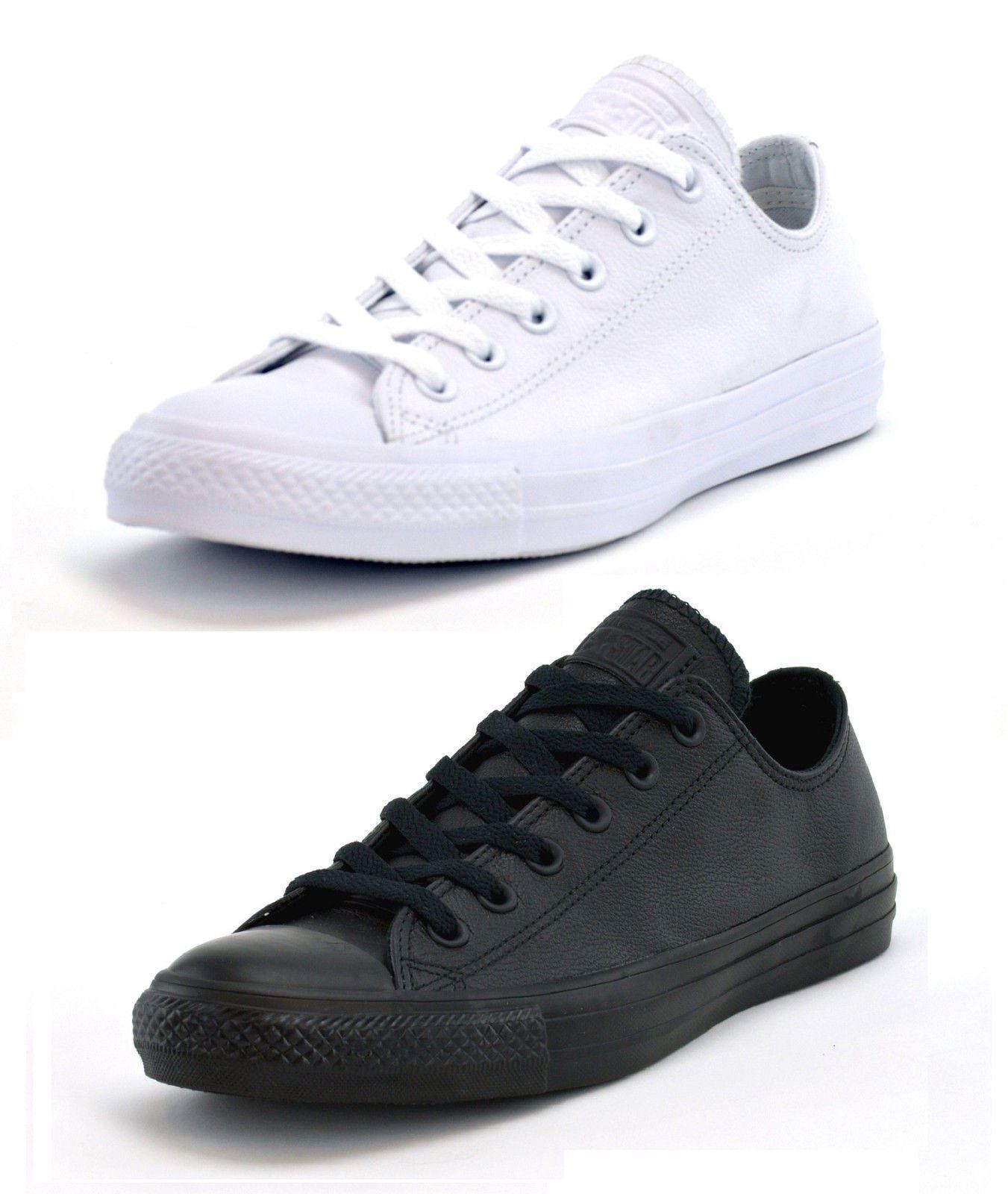 Converse chuck taylor oxley scarpe e scarpe oxley basse uomini migliori allenatori neri e bianchi 1d2bcd