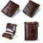 Men-Genuine-Leather-Cowhide-Wallet-Bifold-RFID-Credit-Card-Holder-Zipper-Purse thumbnail 19