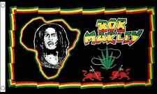Bob Marley Africa 5'x3' Flag Regge Rasta Festival