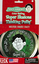 Super Fly Super Illusions Crazy Aaron's Thinking Putty large 4 inch tin 3.2oz