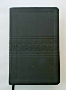 Holy-Bible-New-King-James-Version-NKJV-Black-Leather-Cover-Gilt-Edges-Rare