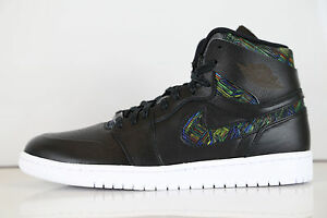Image is loading Nike-Air-Jordan-1-Retro-High-Nouveau-Black-