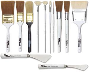 Bob Ross Oil Landscape Painting - Choose Bob Ross Brush Brushes Painting Knife