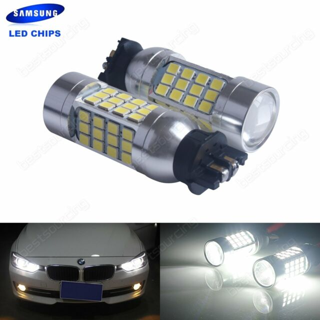 2x PW24W Bulb SAMSUNG 45W LED Daytime Running Light DRL BMW 3 Series F30 F31 F34