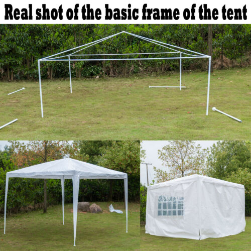 Gazebo Garden Waterproof 3X3 3X4 3X6M Canopy Marquee Party Tent With Side Walls