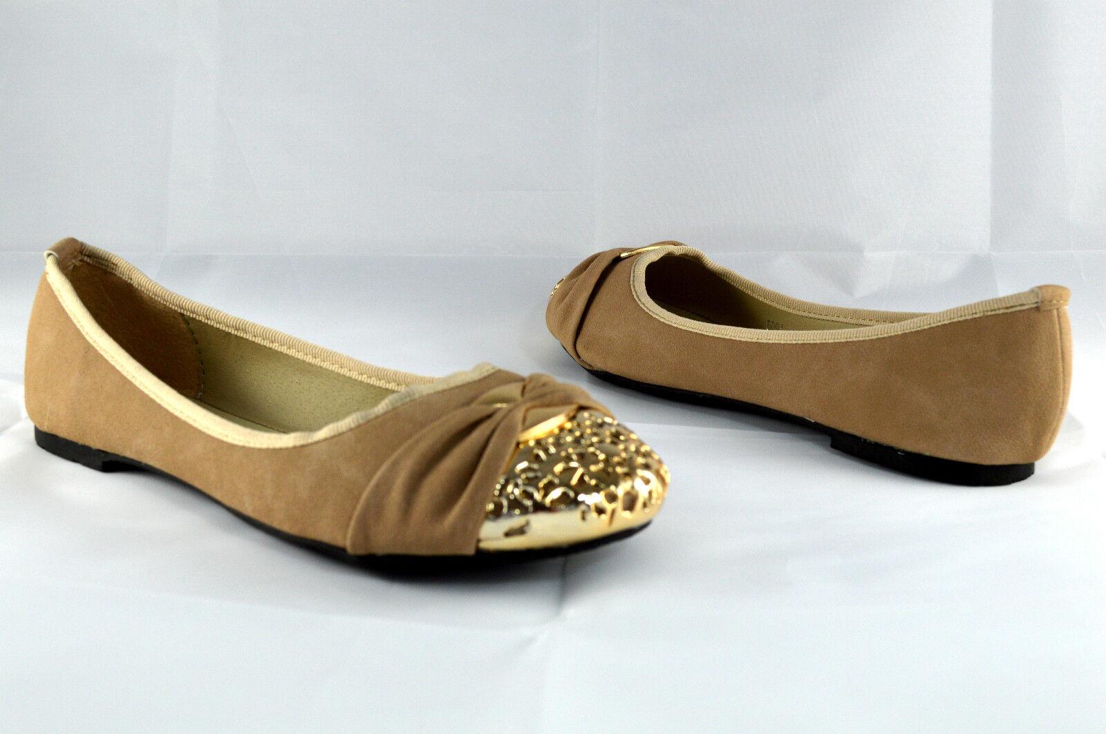 Damen Ballerinas Halb zapatos  Oroe Spitze Lederoptik 41 Khaki Neu Gr.36 - 41 Lederoptik A6091 7f8251