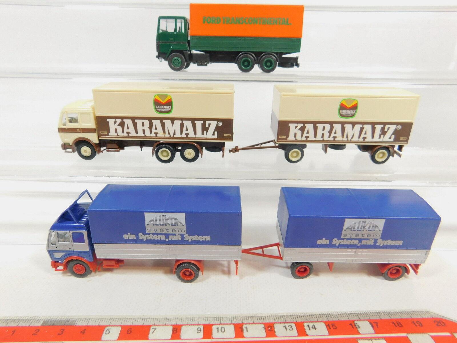 AR617-0,5x Herpa H0 H0 H0 LKW Karamalz, Ford Transcontinental etc. NEUW 106622