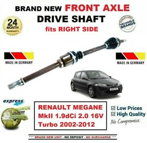 FOR-RENAULT-MEGANE-II-1-9dCi-2-0-16V-Turbo-2002-2012-FRONT-AXLE-RIGHT-DRIVESHAFT
