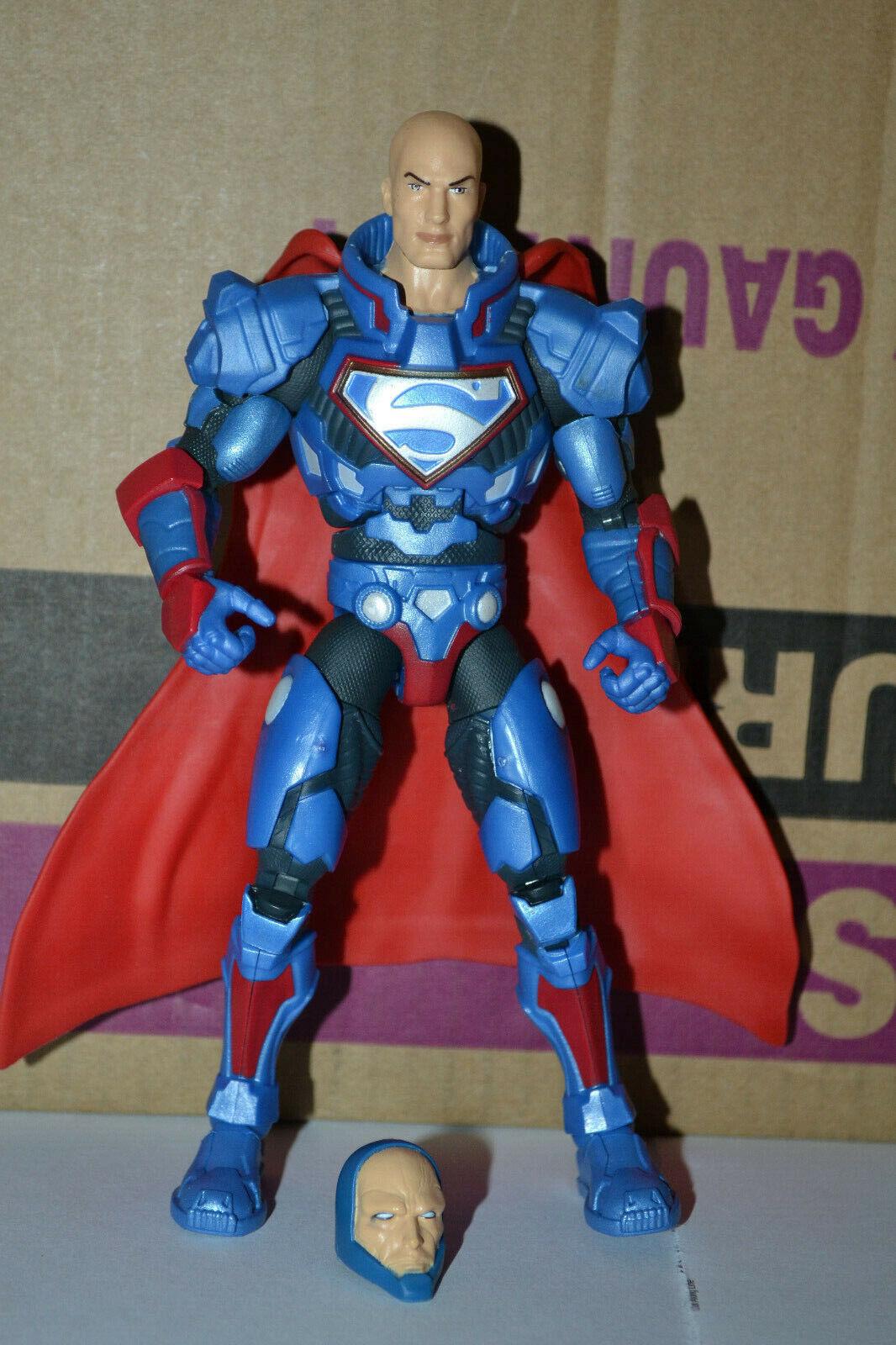 DC Multiverse Lex Luthor CNC Figure -  Collect and Connect - BAF - w   Alt Head.  marque