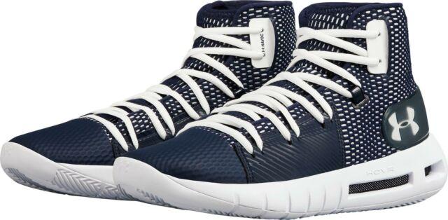 US 12 D Under Armour Men/'s HOVR Havoc Basketball Shoe Black//White M