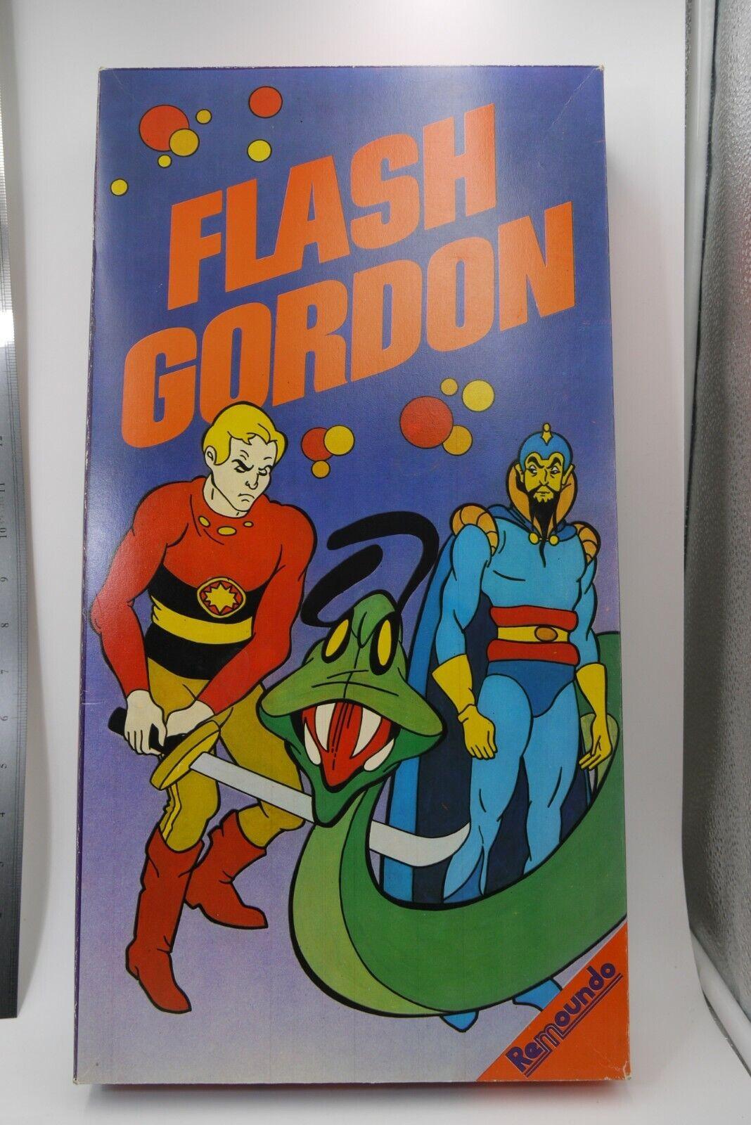 VINTAGE 80'S REMOUNDO FLASH GORDON GREEK tavola gioco completare   risposte rapide