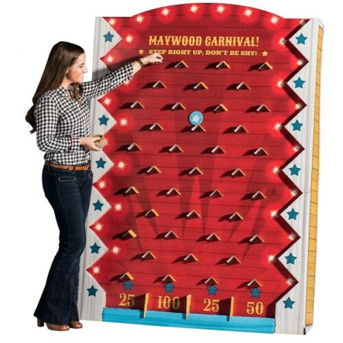 Board game Plinko like drop game Party entertainment school carnival