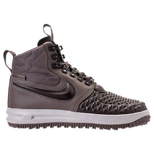 New Nike Men's Lunar Force 1 Duckboot '17 (916682-203)  Ridgerock// Velvet Brown