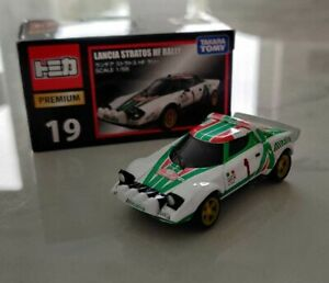 Tomica-Premium-1-64-Lancia-Stratos-HF-Rally-WRC-Alitalia-MINT-BOXED-TLV