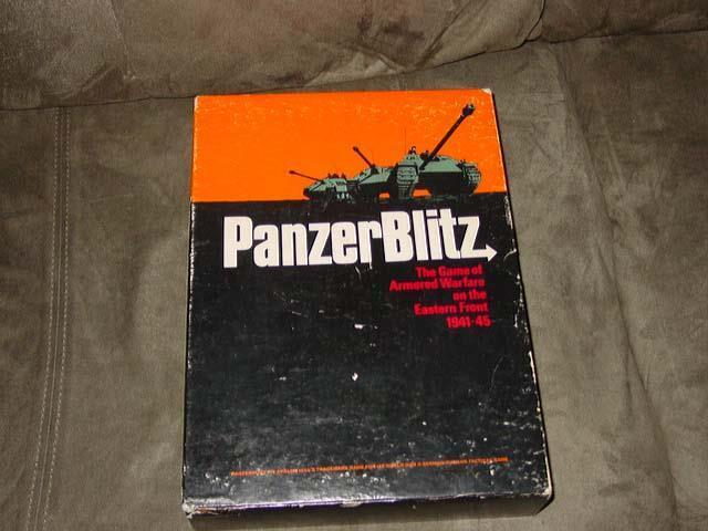 Avalon Hill - PanzerBlitz game 1stEd ArmoROT Warfare on Eastern Front (Part UNP)