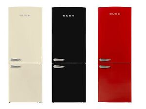 Bush at argos bsff60 retro free standing frost free fridge freezer choose colour ebay - How to choose a freezer ...