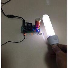 Mini Tesla Coil Plasma Speaker Electronic Music 15w 15v 24v Finished Diy Dc 12v