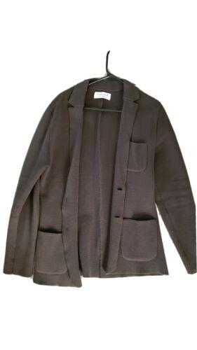 Everlane Oversized Sweater Blazer - Size M- Olive