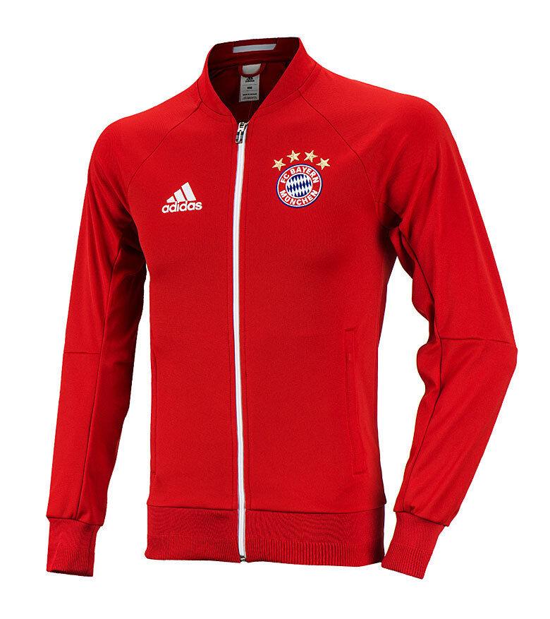 Adidas Bayern Munich Anthem Jacket AP1656 Soccer Footbtutti Training Top Jersey