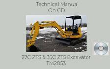 John Deere 27c Zts And 35c Zts Excavator Repair Technical Manual Tm2053