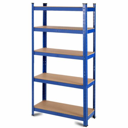 "2000lb Durable 5-Tier Tools Storage Shelf Utility Garage Tool 36/""x72/"" Adjustable"