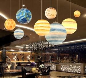 Led Planet Chandelier New Restaurant