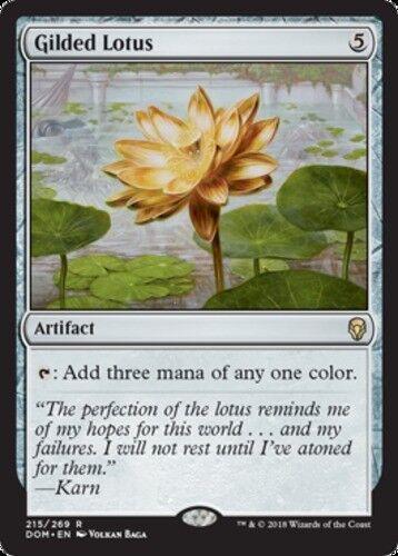 Gilded Lotus x1 Magic the Gathering 1x Dominaria mtg card