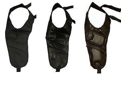 Mens Underarm Anti-theft Holster Style New Black Cross Body Shoulder Travel Bag