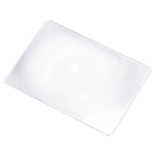 Yanke Super Brillante Fresnel De Vidrio Esmerilado Para Cámara 6X9 Accesorio