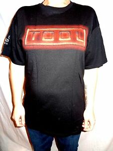 Tool-Snake-Logo-Anvil-Brand-Black-100-Cotton-Graphic-T-shirt-Size-L-Rock