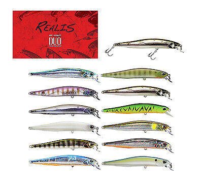 DUO REALIS MINNOW 80SP JERKBAIT select colors