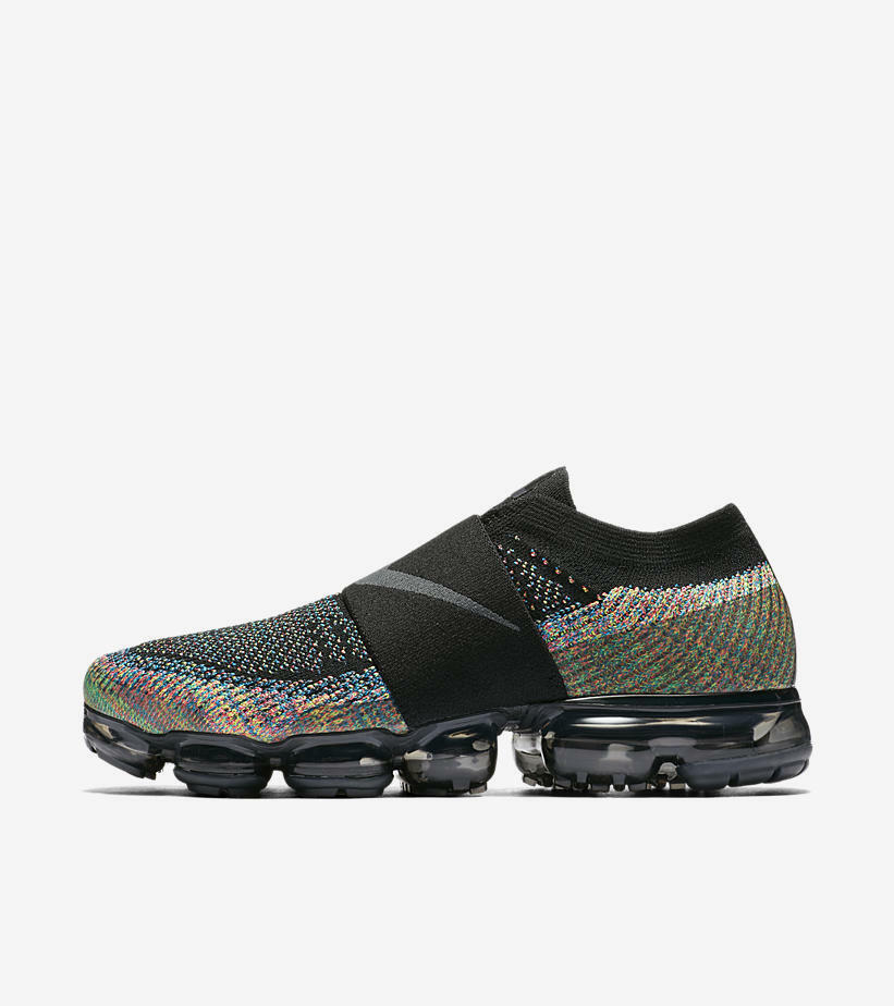8e5b87e08f Nike Air Vapormax Flynit Moc Black Multicolor QS Size 8. AH3397-003. air