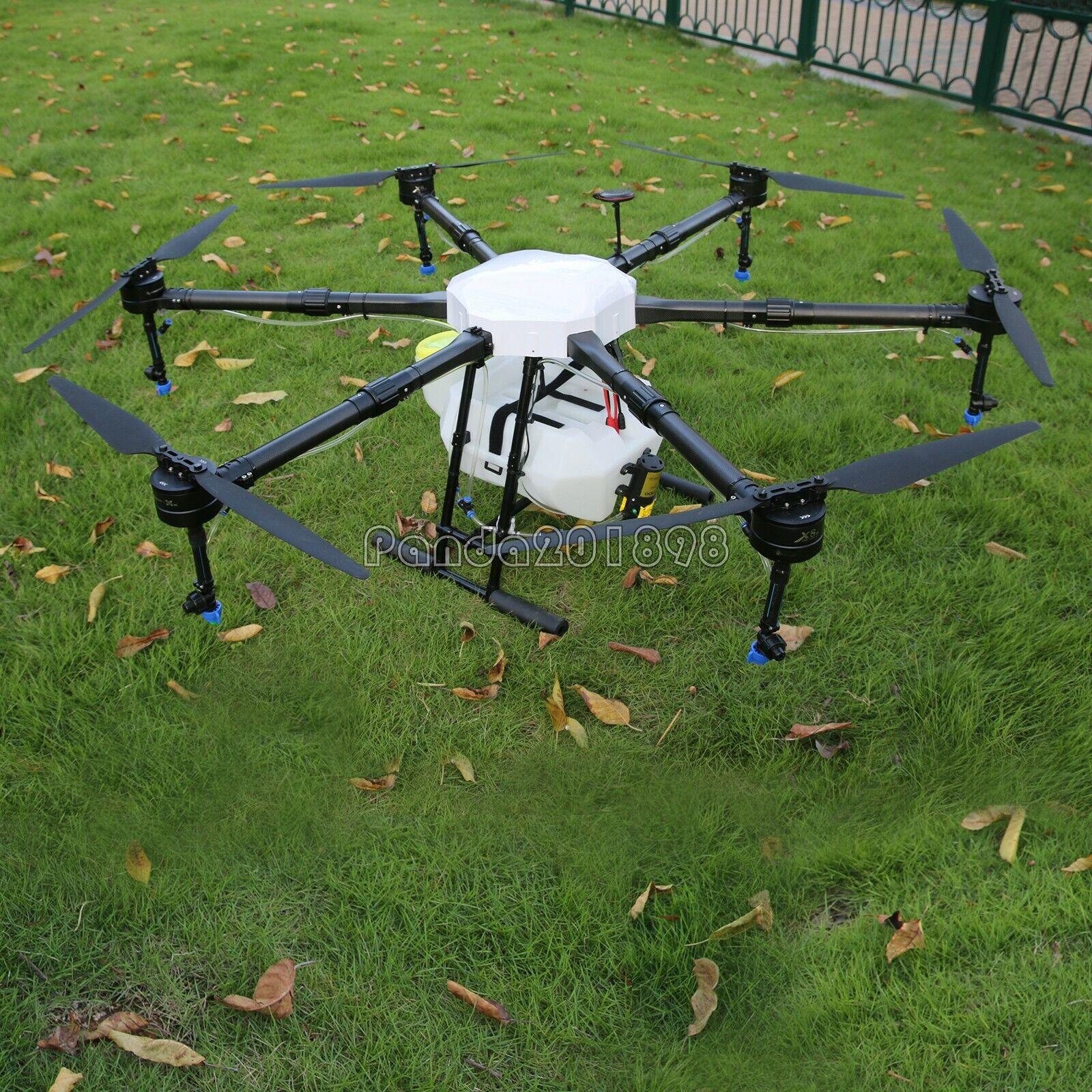 6-Axis AGRICOLTURA Drone 1600mm TELAIO Drone UAV capacità 16KG 15L PAN TANK Farm