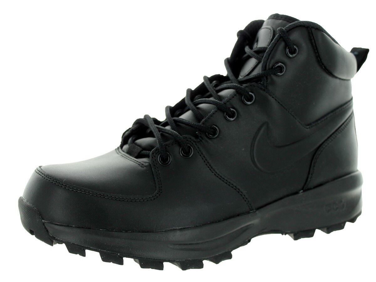 Nike Manoa Manoa Manoa Leather Black Black (454350 003) 783f59