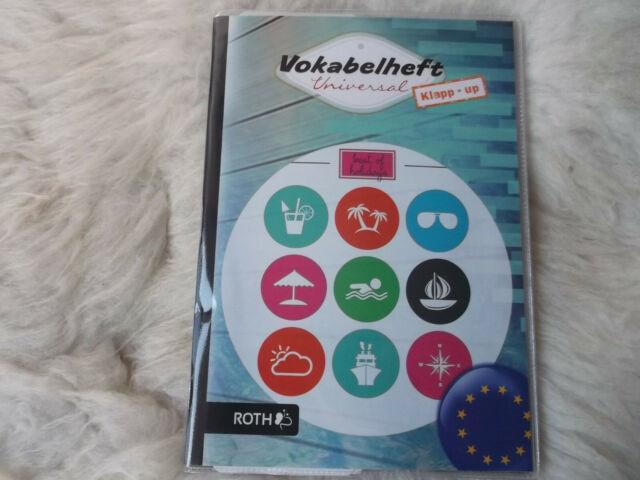 Vokabelheft Universal Klapp  up  ROTH  DIN A5 verschieden Ausführungen