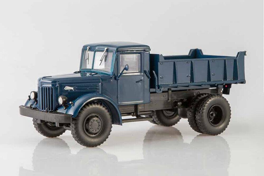 MAZ-205 blu camión USSR 1947 año Diecast Coleccionables Escala 1 43 modelo de coche