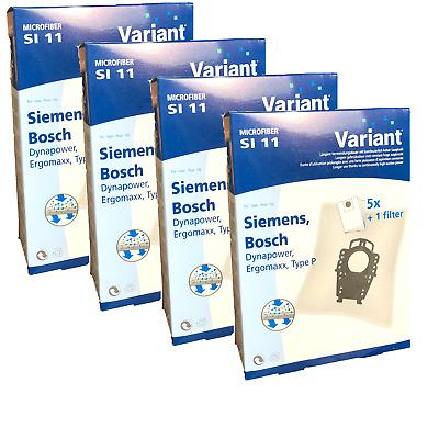 20 Staubsaugerbeutel geeignet für Bosch BSG 8 Pro 3 Home Professional