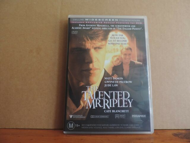 The Talented Mr. Ripley dvd region 4 very good condition