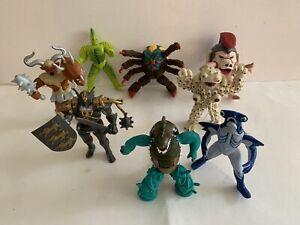 Vintage Power Rangers bad guys lot of 8