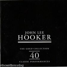 John Lee Hooker - Gold Collection :40 Classic Performances (double CD 1998)