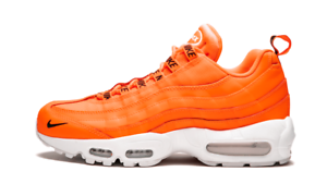 SALE NIKE AIR MAX 95 PREMIUM TOTAL ORANGE BLACK WHITE 538416 801 ... 7f1e27d21