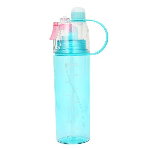 Sport Hiking Cycling Mist Spray Water Gym Beach Bottles Leak-proof Drinking Cups