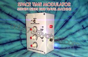 time travel machine steven gibbs