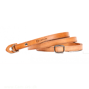 Adjustable-Leather-Camera-Strap-with-ring-connection-by-Cam-in-Tan