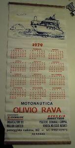Calendario Del 1979.Dettagli Su Calendario Del 1979 Motonautica Olivio Rava Passeggiata Cadorna Alassio Vg