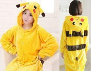 Pyjama-PIKACHU-Deguisement-Kigurumi-Taille-M-NEUF-type-Japon-Kawai