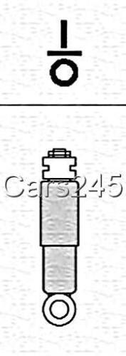 2x Gasdruck Stoßdämpfer hinten für RENAULT Twingo Schrägheck 2007