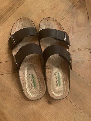 Black Comfort-memory foam-sandals | eBay