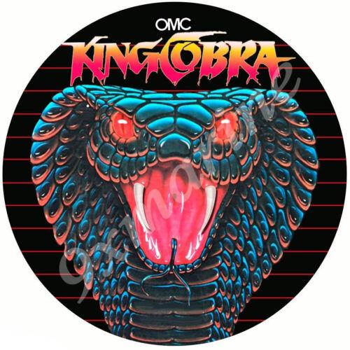 "OMC No Number King Cobra 7/"" Sticker"